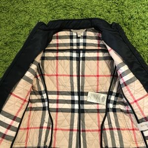 Burberry Quilted Diamond Jacket